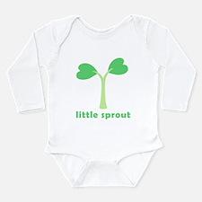 Cute Sprout Long Sleeve Infant Bodysuit