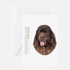 Brown Newfoundland Greeting Cards (Pk of 10)