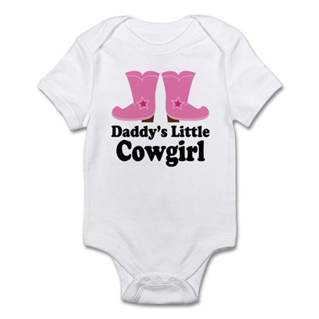 Daddy's Cowgirl Gift Infant Bodysuit