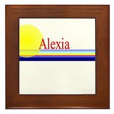 Alexia Framed Tile