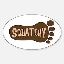 Squatchy Imprint Decal
