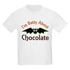 Halloween Chocolate Bat T-Shirt