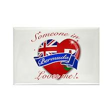 Bermuda Flag Design Rectangle Magnet (10 pack)