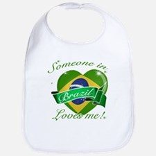 Brazil Flag Design Bib
