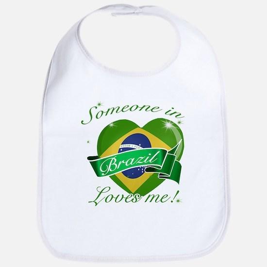 Brazil Flag Design Bib