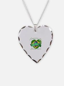Brazil Flag Design Necklace