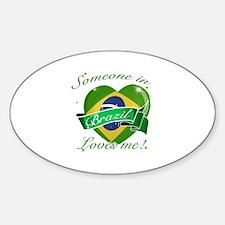 Brazil Flag Design Decal