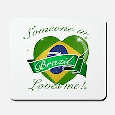 Brazil Flag Design Mousepad