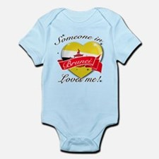 Brunei Flag Design Infant Bodysuit