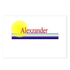 Alexzander Postcards (Package of 8)