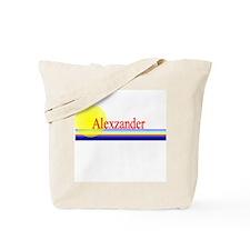 Alexzander Tote Bag