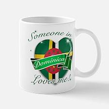 Dominica Flag Design Mug