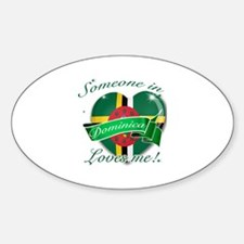 Dominica Flag Design Decal