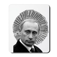 Saint Vladimir Putin Corrupt Politician Mousepad