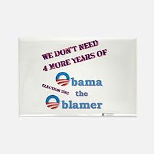 Obama the Oblamer Rectangle Magnet