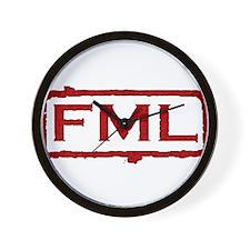 Unique Fml Wall Clock