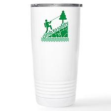 Don't Panic Climb to Safety Travel Mug