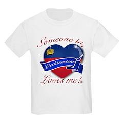 Liechtenstein Flag Design T-Shirt