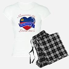 Liechtenstein Flag Design Pajamas