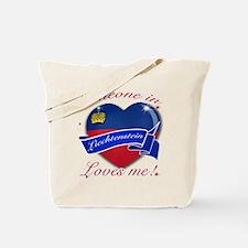 Liechtenstein Flag Design Tote Bag