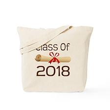 2018 School Class Diploma Tote Bag