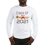 2021 School Class Diploma Long Sleeve T-Shirt