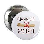 """2021 School Class Diploma 2.25"""" Button"""