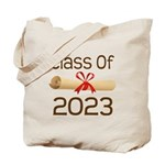 2023 School Class Diploma Tote Bag