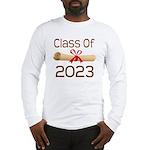 2023 School Class Diploma Long Sleeve T-Shirt