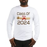 2024 School Class Diploma Long Sleeve T-Shirt