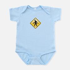 Pedestrian Hula-Hoop Infant Bodysuit