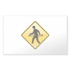 Pedestrian Hula-Hoop Decal
