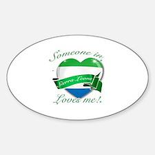 Sierra Leone Flag Design Decal