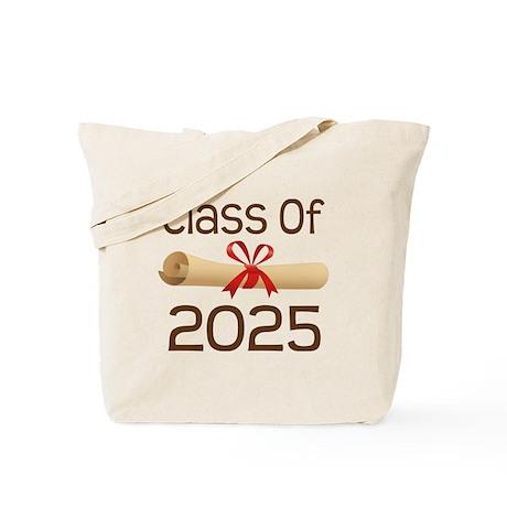 2025 School Class Diploma Tote Bag