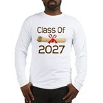 2027 School Class Diploma Long Sleeve T-Shirt