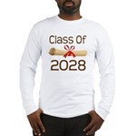 2028 School Class Diploma Long Sleeve T-Shirt