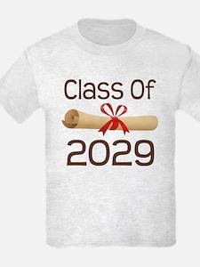 2029 School Class Diploma T-Shirt