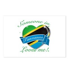 Tanzania Flag Design Postcards (Package of 8)