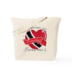 Trinidad Flag Design Tote Bag