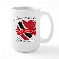 Trinidad Flag Design Large Mug