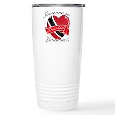 Trinidad Flag Design Stainless Steel Travel Mug