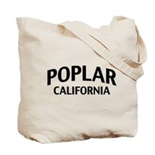 Poplar California Tote Bag