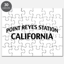 Point Reyes Station California Puzzle