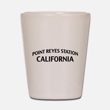 Point Reyes Station California Shot Glass