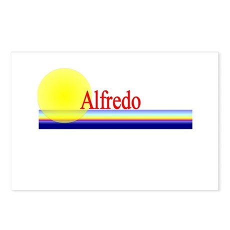 Alfredo Postcards (Package of 8)