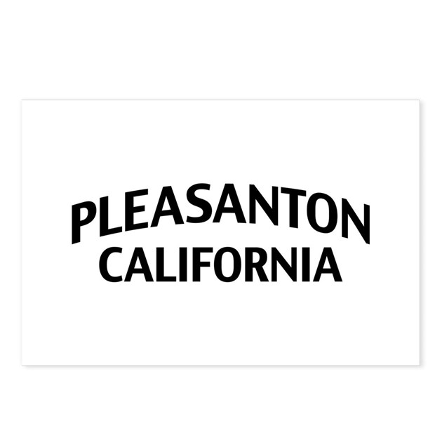 Pleasanton California Postcards Package Of 8 By Zpcalifornia