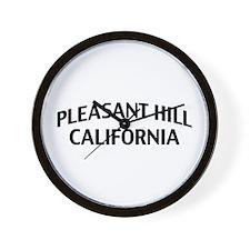 Pleasant Hill California Wall Clock