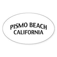 Pismo Beach California Decal