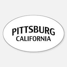Pittsburg California Decal