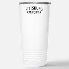 Pittsburg California Travel Mug
